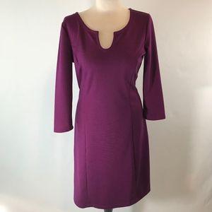 LOFT Long Sleeve A Line Casual/Office Dress